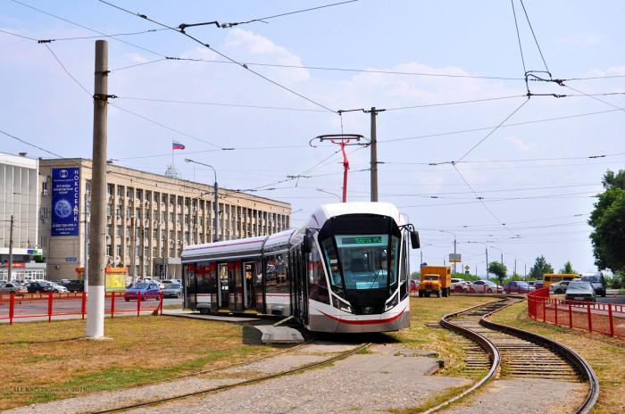 Новые трамваи модели 71-931М «Витязь-М» для Москвы от ОАО «Транспортные системы»