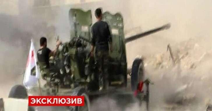 ВКС РФ помогли сирийской армии отбить контратаку американских бандитов под Алеппо