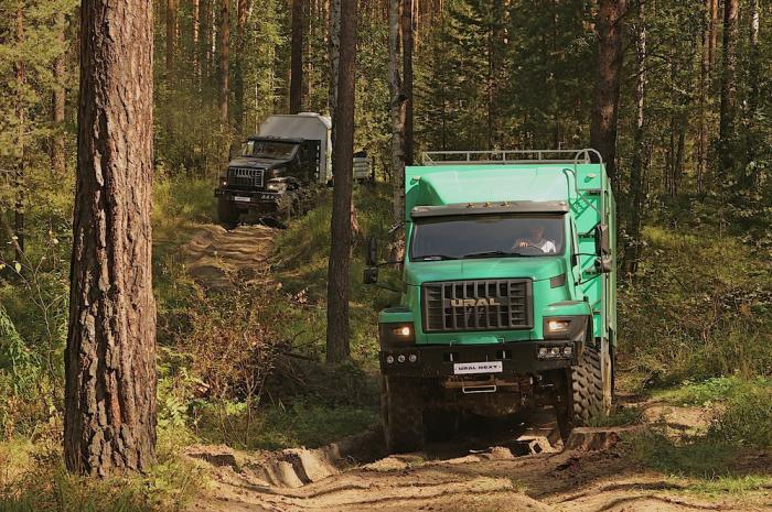 Серьёзные тесты серьёзного автомобиля для Севера - Ural Next