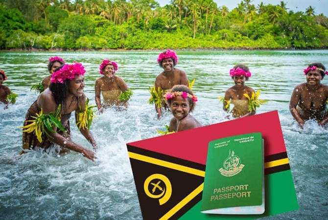 Счастливые украинцы из загадочного племени Вануату