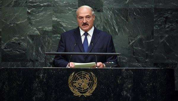 Фееричное выступление Александра Лукашенко в ООН