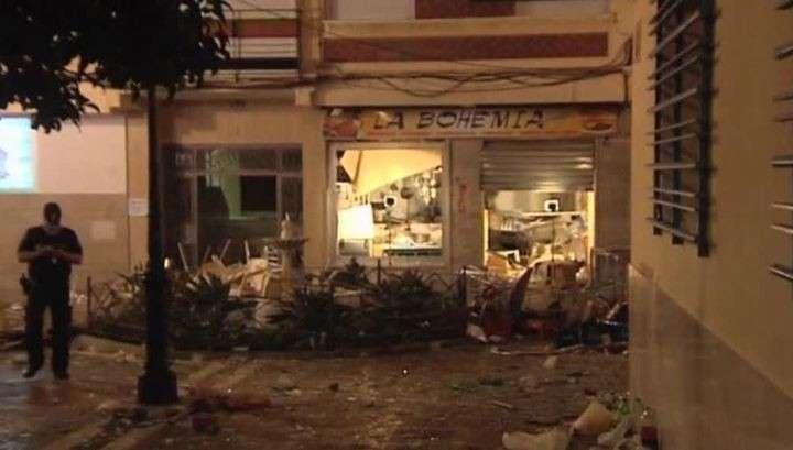В испанской Малаге при взрыве газа в кафе пострадали более 70 человек