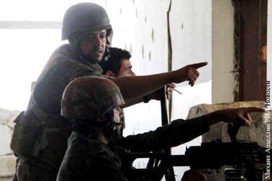 Успехи сирийской армии продолжают откровенно радовать
