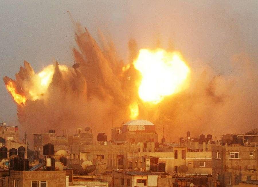 На пятый день операции Израиля в секторе Газа число погибших и раненых превысило 1000 человек