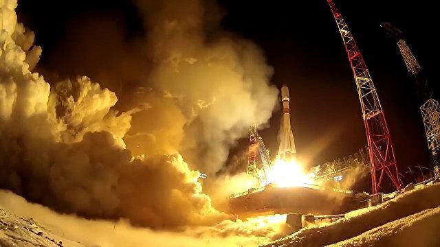 Старты ракет с Плесецка. Видео Минобороны РФ ко Дню Космических войск