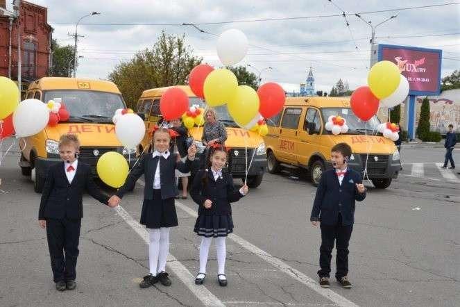 4. Северная Осетия получила 20 школьных автобусов Сделано у нас, политика, факты