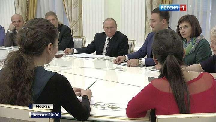 Владимир Путин узнал зарплату школьного учителя из глубинки