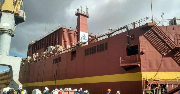 Началось строительство дока для самой северной плавучей АЭС в мире