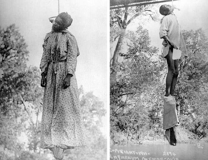 Дикие, бандитские США: факты об истории линчевания людей (18+)