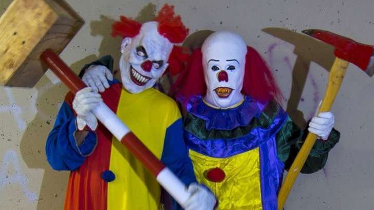 Атака клоунов: Эпидемия безумия в США