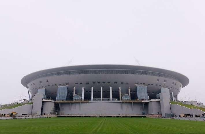 Строительство стадиона «Крестовский» в Санкт-Петербурге