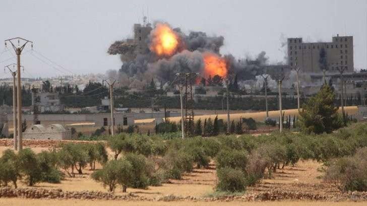 Битва за Алеппо — решающий момент войны Сирии против американских бандитов