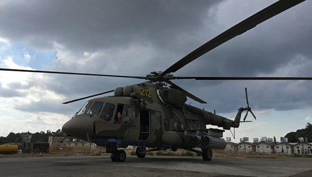 Американские бандиты из ИГ обстреляли российский Ми-8, доставлявший гумпомощь в Хаму