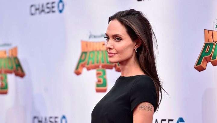 Анджелина Джоли ушла от Брэда Питта к женатому арабскому миллиардеру