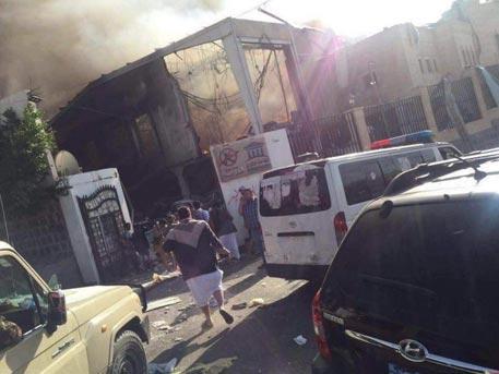 Более 150 человек погибли при ударе аравийских ВВС по траурному дому в Сане