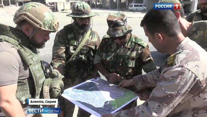 Американские бандиты готовятся к контрнаступлению в Алеппо