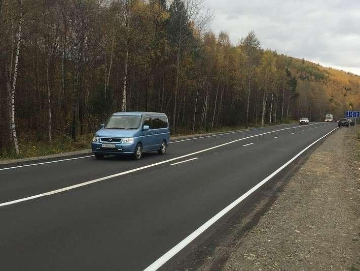 16. Федеральные дорожники расширили трассу Р-258 «Байкал» в Иркутской области для повышения безопасности водителей. Общая протяжность обновленных отрезков трассы составила 5,8 километра. Сделано у нас, факты