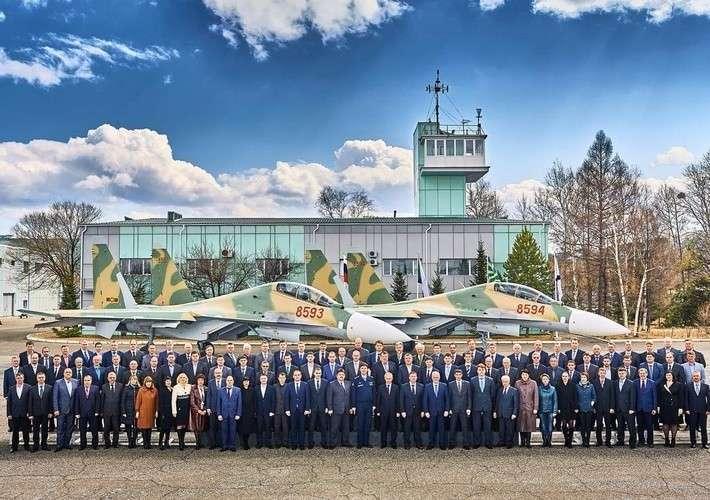 1. Последняя пара Су-30МК2 для ВВС Вьетнама Сделано у нас, факты