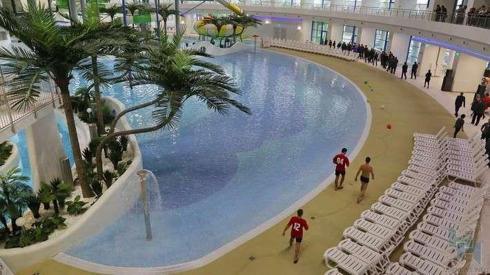 25. Самый большой аквапарк России открылся в Новосибирске  Сделано у нас, факты