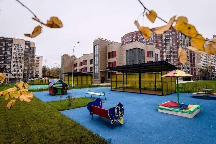 3. В Москве открыт новый детский сад на 225 мест Сделано у нас, факты