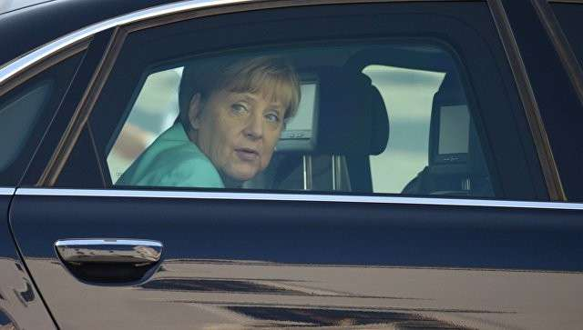 Канцлер ФРГ Ангела Меркель во время встречи глав стран ЕС в Братиславе. 16 сентября 2016. Архивное фото