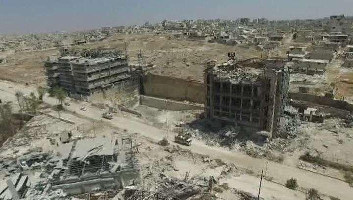 Сирийская Армия уничтожила командный пункт террористов под Алеппо