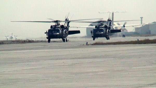 Вертолеты Апач, архивное фото
