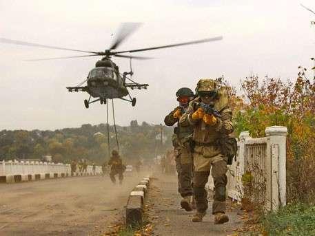 Каратели украинской жидо-Хунты начали локальное наступление на юге Донбасса