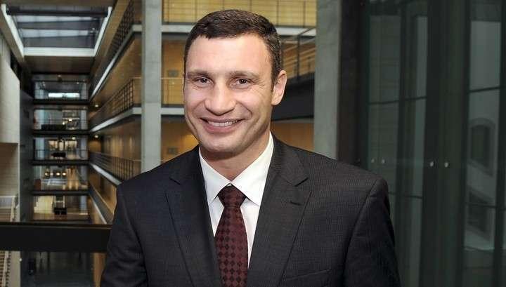 Киевский мэр Виталий Кличко сообщил публике, что 13 плюс 3 равно 15