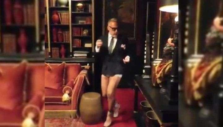 Итальянский миллионер без брюк и на шпильках покорил Сеть зажигательным танцем