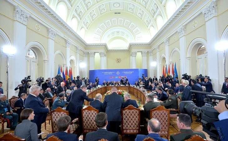 Сессия Совета коллективной безопасности Организации договора околлективной безопасности врасширенном составе.