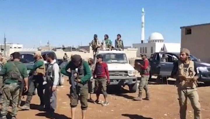 Бандитов и террористов ИГИЛ выбили из значимого в Сирии города Дабика