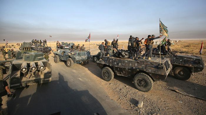 Курдское ополчение и иракские военные штурмуют Мосул - прямая трансляция