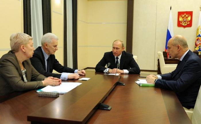 Владимир Путин провёл совещание по вопросам финансирования фундаментальной науки