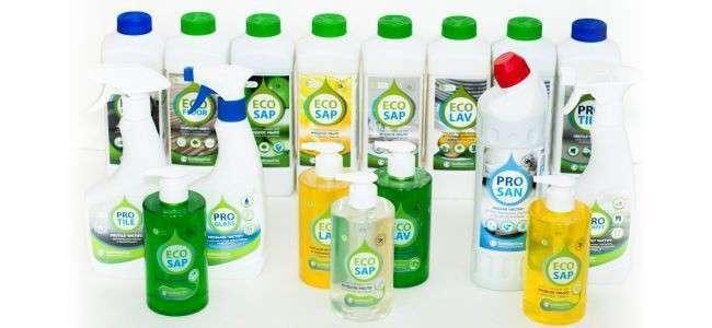 НПО БиоМикроГели создало экологические моющие средства изяблок