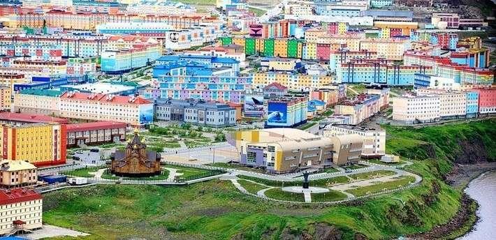 Города севера россии фото 660-993