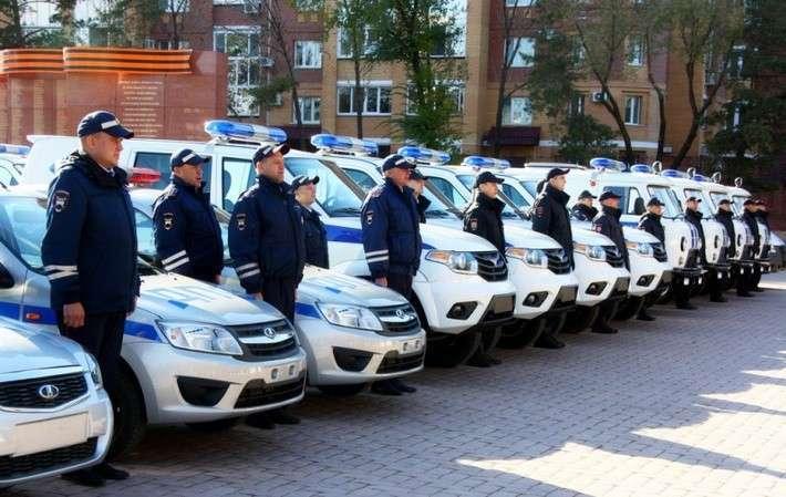10. Автопарк полиции Амурской области пополнился новыми автомобилями  Сделано у нас, политика, факты