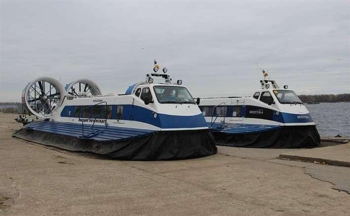 39. Самара получила два новых судна на воздушной подушке для зимней навигации Сделано у нас, политика, факты