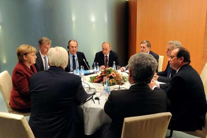 Переговоры по Украине продлились долгих четыре часа Фото: REUTERS