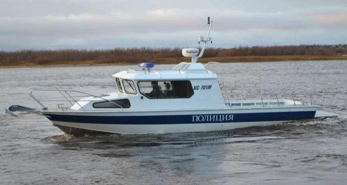 10. Заполярные полицейские получили новый быстроходный катер КС 701-М Сделано у нас, политика, россия, факты