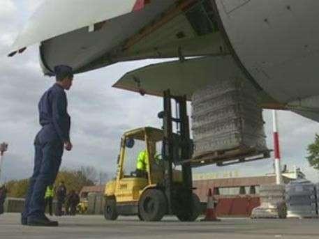 ВКС РФ доставят из Сербии 40 тонн гуманитарной помощи для Сирии