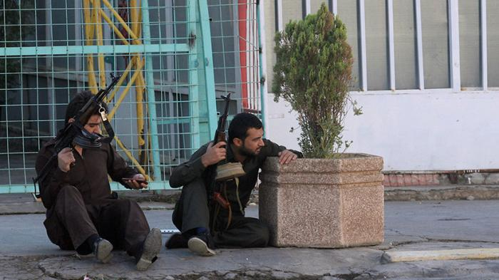 Наступление американских наёмников на иракский Киркук — прямая трансляция