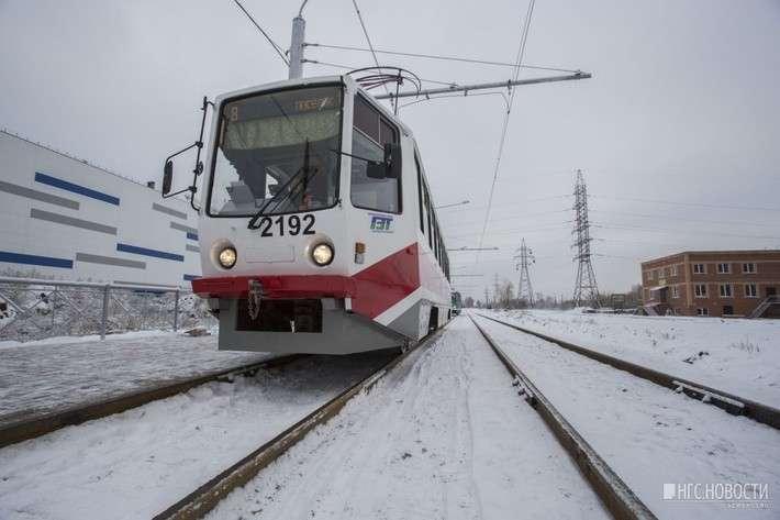 В Новосибирске начала работу новая городская трамвайная линия
