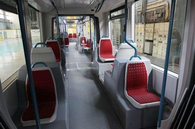 В Санкт-Петербурге представлен трамвай нового поколения