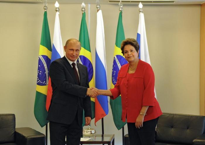 Дилма Роуссефф призвала Россию увеличить присутствие в бразильской экономике