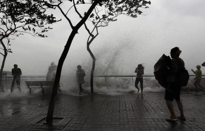 Более 1,5 миллиона человек пострадали в Китае от удара тайфуна «Хайма»