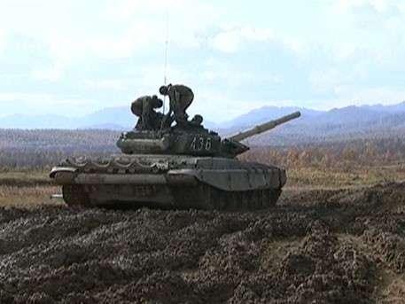 Модернизированные танки Т-72 вышли на итоговые стрельбы на Сахалине