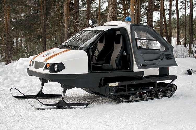 В Нижнем Новгороде по заказу Минобороны выпустили снегоход «Беркут» для работы в Арктике