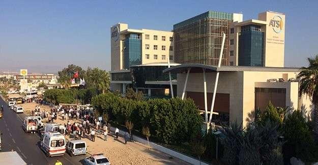В Анталье у здания торгово-промышленной палаты прогремел мощный взрыв