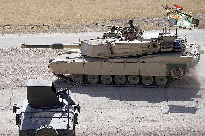 Хорошо горят американские танки